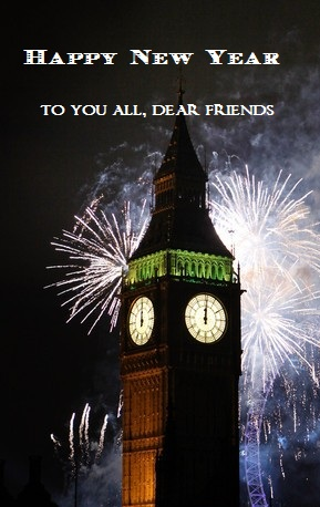 London New year's wishes