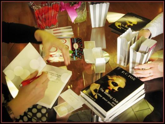Signing Flo books