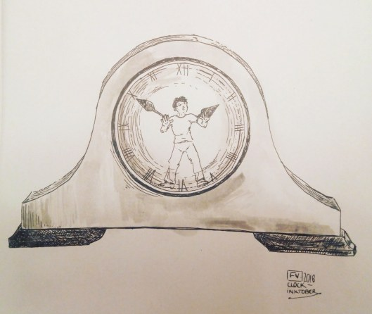 Clock Shadow - INktober 2018 FV
