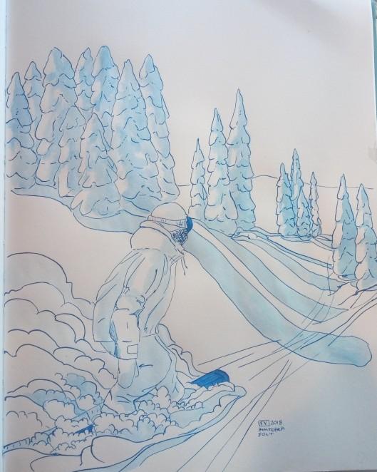 Jolt - Inktober 2018 FV