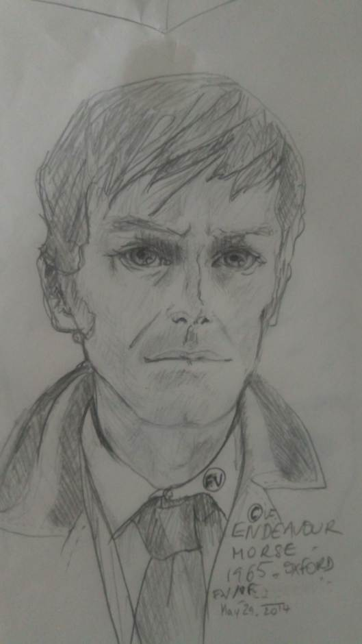 Shaun Evans as DS Morse FV